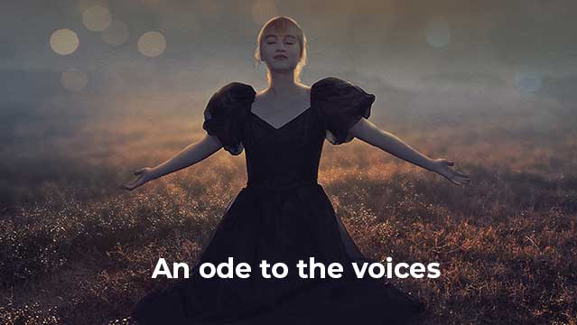An ode to the voices video