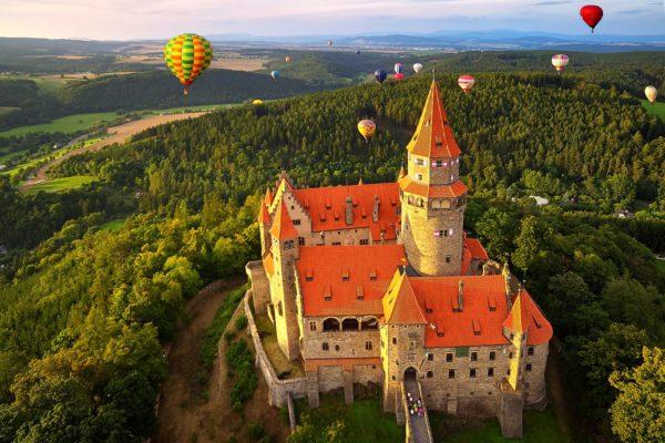 Czech Voice Actors at Bouzov Castle in The Czech Republic