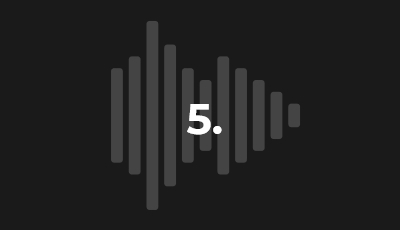 5. Follow the audio deliverable requirements