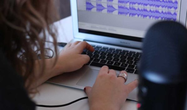 Audio Editing Laptop