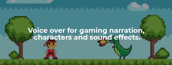 Video game character dressed in red facing a dinosaur.