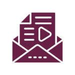 newsletter in audio or video format