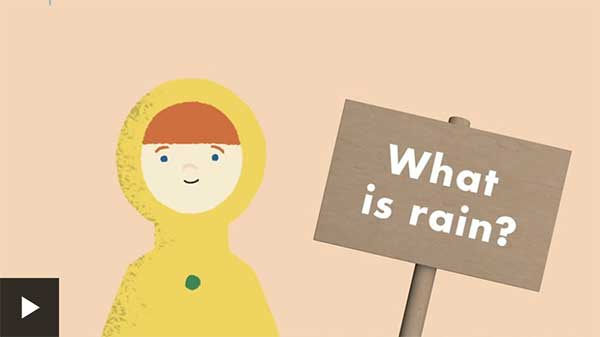 What is rain BBC Bitesize