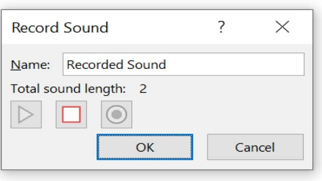 Adding voice-over to PowerPoint