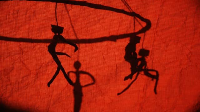 Shadow Puppets from the History of voice-over