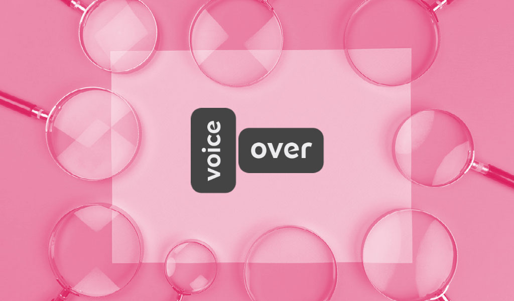 Voice-Over Definition & Spelling