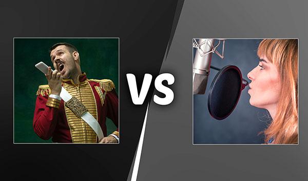 Voice Actors vs Voice-Over Talent